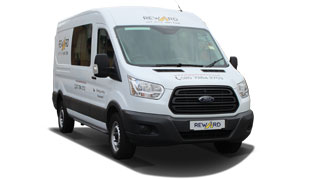 Self-drive Crew Van Hire