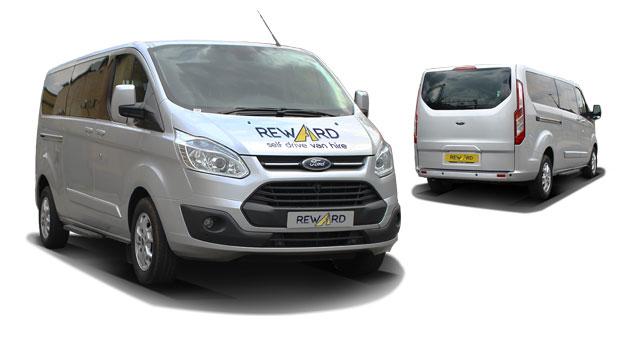 9 seater minibus hire london