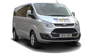 Self-drive 9 Seater Minibus Hire