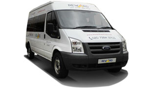 North London 14 Seater Minibus Hire