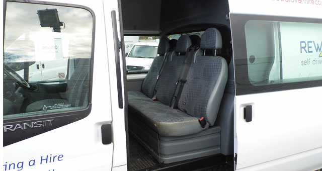 Minibus hire clean and spotless