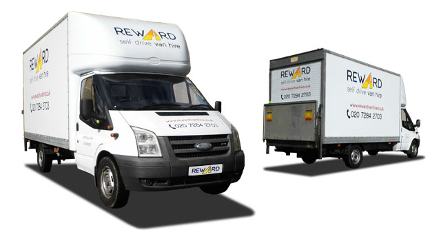 Box Van Hire with Tail Lift