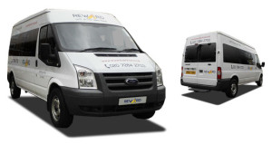 Minibus hire for music groups