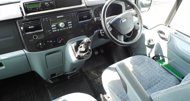 Great looking Ford transit interior