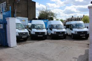 Vans for contractors