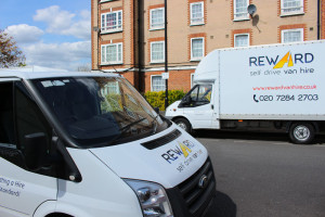 Vans for removals