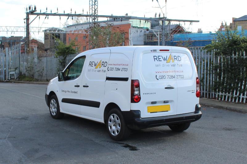 self drive van hire